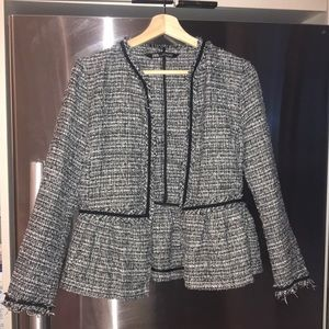Zara 'Chanel tweed' lookalike jacket